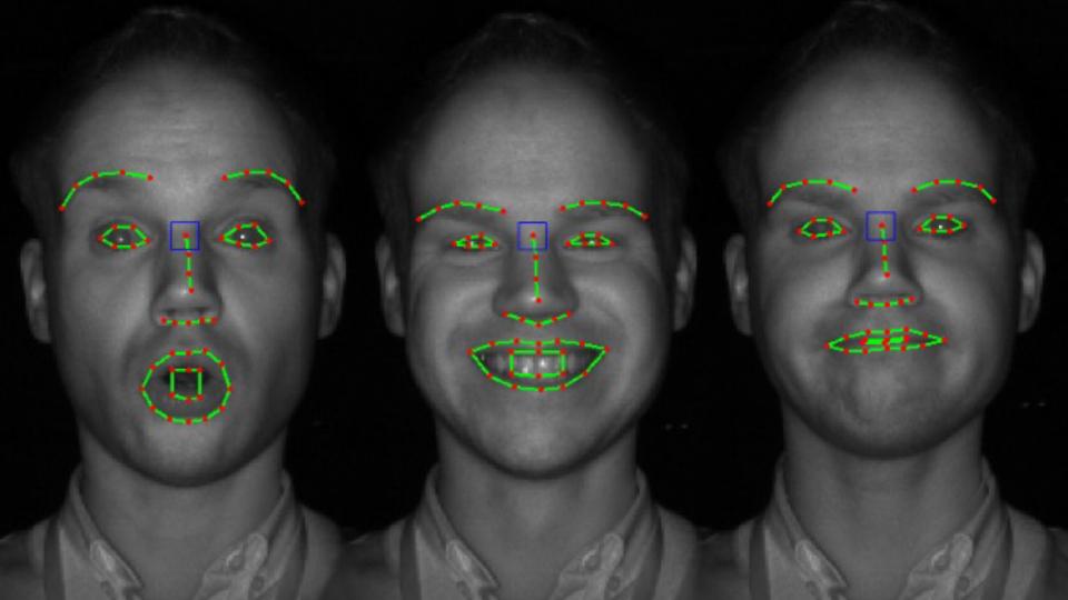 Kamera liest Emotionen