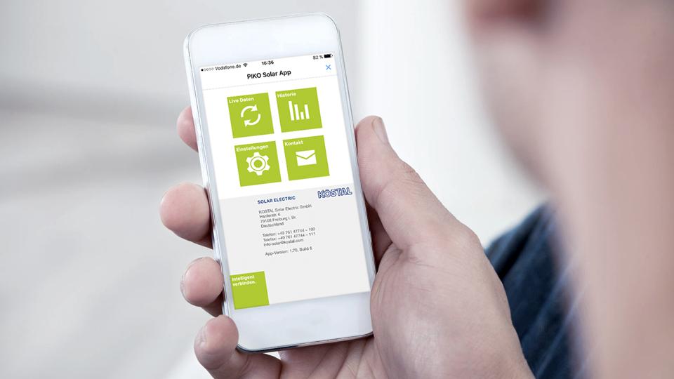 Die PIKO Solar App