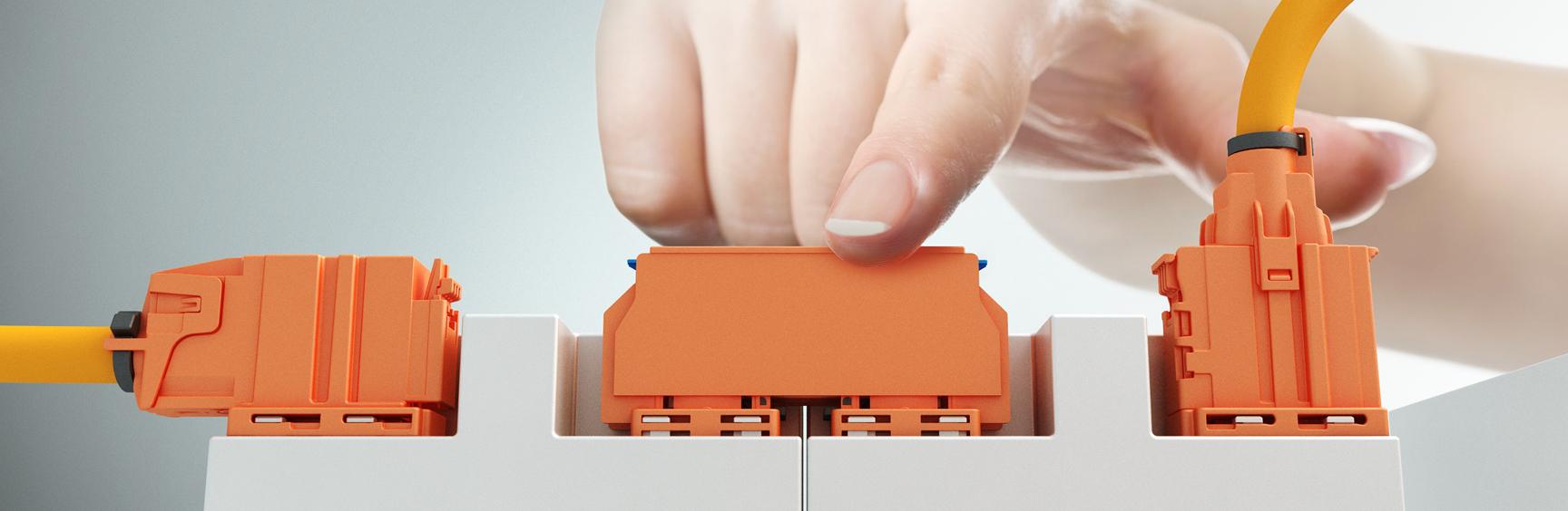 Der KOSTAL HV-Batteriemodulverbinder