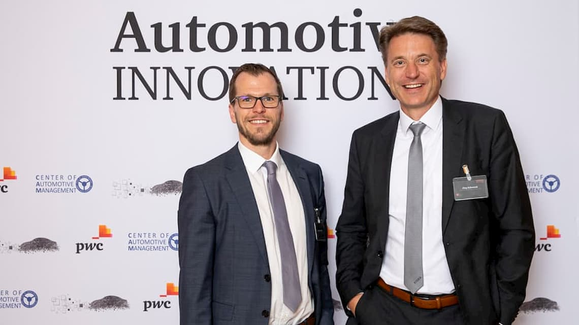 Andreas Pirchner, Head of New Business Incubator at KOSTAL & Jörg Schwerak, Vice President Research & Development of KOSTAL Automotive Electrical Systems